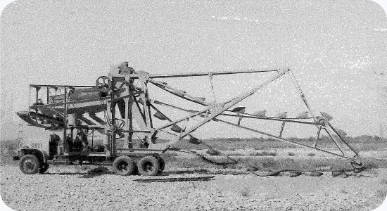 昭和30年代には砂利採取事業を拡大する。